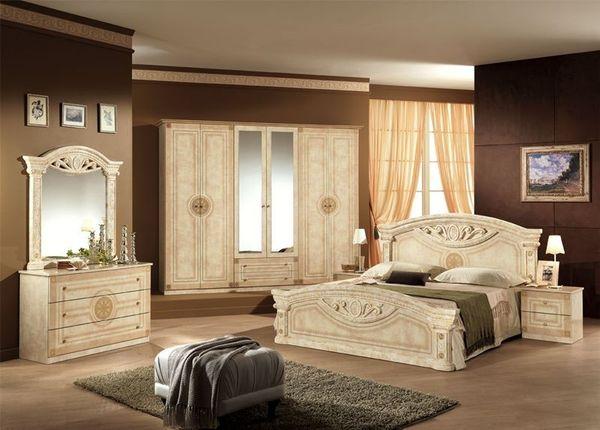 valerie schlafzimmer komplett erle natur teilmassiv, uni ...