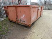 Absetzmulde - Sirch container