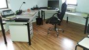 Büroeinrichtung in gepflegten Zustand für