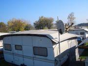 Schutzdach für Wohnwagen und Vorzelt