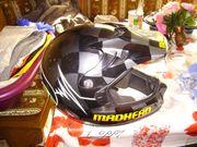 Motorrad helm cross