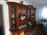 Hochwertige Wohnzimmerschrankwan d aus Echtholz