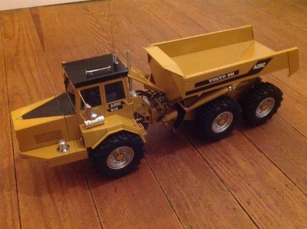 rc modellbau dumper volvo a25c leimbach hydraulik in. Black Bedroom Furniture Sets. Home Design Ideas