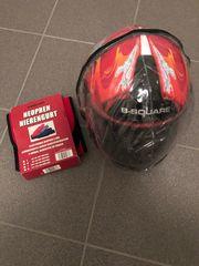 Motorradhelm Nierengurt