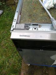 Gaggenau Spülmaschine Vollintegriert