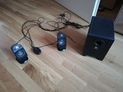 2 1 PC Lautsprecher
