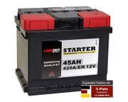 Langzeit 45Ah 12V Autobatterie