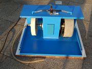 Vertikalschleif- und Poliermaschine