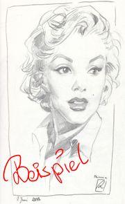 Perfekte Geschenkidee Bleistift Portraits