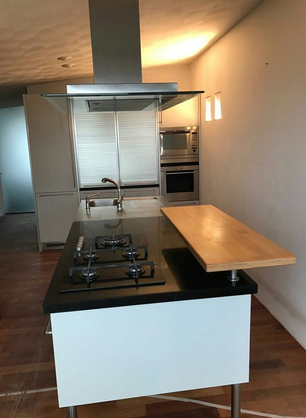 Einbaugeräte küche  Bulthaup Küche mit Insel und Einbaugeräte in Mannheim ...