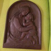 Grabschmuckplatte Maria mit