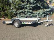 750 kg Absenker Anhänger Motorradanhänger