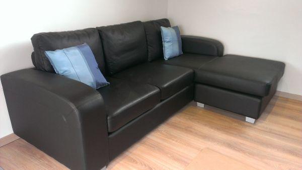 Ledercouch schwarz  Ledercouch schwarz in Worms - Polster, Sessel, Couch kaufen und ...