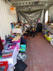 Garagenflohmarkt jedezeit vorbeikommen