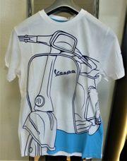 Vespa Herren T-Shirt Young Weiss
