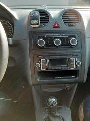 VW Caddy mit anhängerkupplung - TOP