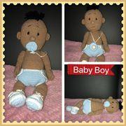 Amigurumi Baby Boy