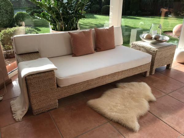 recamiere chaiselongue gebraucht kaufen 4 st bis 60. Black Bedroom Furniture Sets. Home Design Ideas