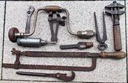Werkzeug alt antik Konvolut
