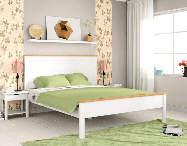 Schlafzimmer Bett 180X200   Neu Doppel Bett 180x200 Weiss Massiv Holz Bettgestell Schlafzimmer