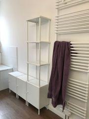 Schöner Badezimmerschrank mit Regal von