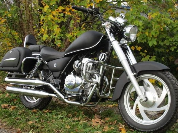 IRON HORSE Chopper Midnight Express 125ccm