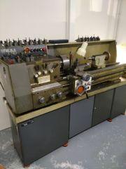 Mechanische Drehmaschine Metallic