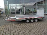Baumaschinen-Transporter 3500kg 4m x1 8m