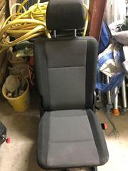 Sitzbank schwarz/grau