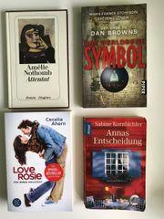 Diverse Bücher je 1