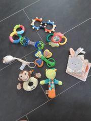 Set Babyspielzeug (Rasseln,