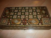 Hübsches Backgammon-Spiel orientalisches Design neuwertig