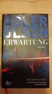 Adler Olsen ERWARTUNG gebunden