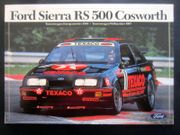 Aufkleber FORD SIERRA RS500 COSWORTH