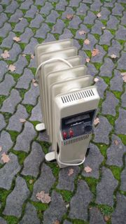 Ölradiator, Zusatzheitzer