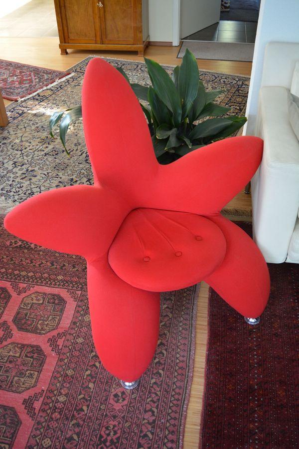 Designer Sessel Tulpenform rot in Karlsruhe - Designermöbel ...