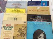 60 klassische Schallplatten siehe Inhaltsverzeichnis