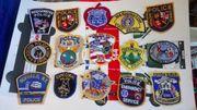 Original amerikanische Polizei Aufnäher