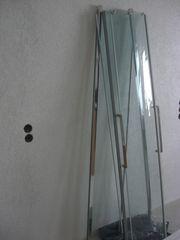 Duschkabine halbrund 90x90 mit passende