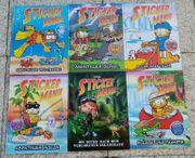6 Stickermania Sticker Mania Bücher