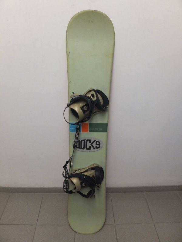 Snowboard Rad Air - Backnang - Älteres Snowboard Rad Air 145 cm mit Bindung zum Üben oder Einsteiger - Backnang