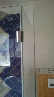 Duschtrennwand zu verkaufen glas