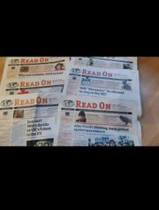 Zeitung in English Newspapers in