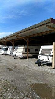 Stellplatz Garage für Wohnwagen Boot