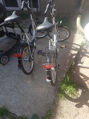 verkaufe klapp Fahrräder