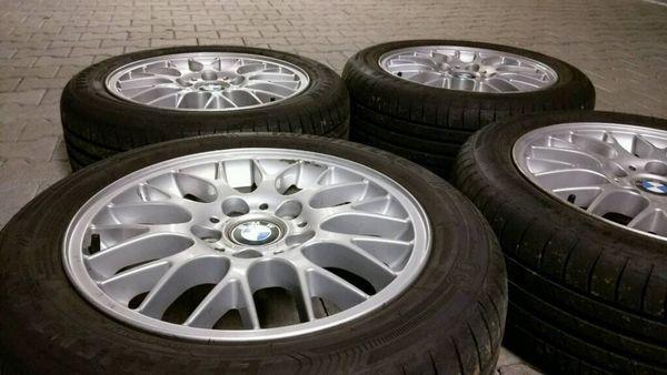 BMW BBS 7x16 M Styling 42 E36 E46 316 318i 323ti Sommer 225-50R16, gebraucht gebraucht kaufen  73262 Reichenbach
