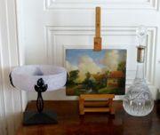 2 Gemälde Ölgemälde 1800 - 1850