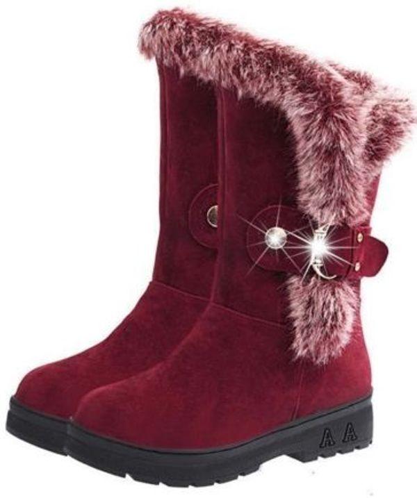 6429d0f6322846 Damen Stiefel Gefütterte Winter Schuhe in Ludwigsburg - Schuhe ...