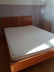 Ikea Bett massiv