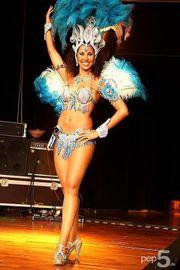 Sambatänzerin Brasilshow Brasilianische